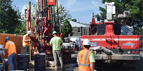 AWT Environmental Services and Summit Drilling Site Remediation Solution